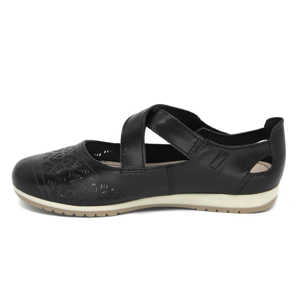 Sapato Bottero Couro Tira Cruzada