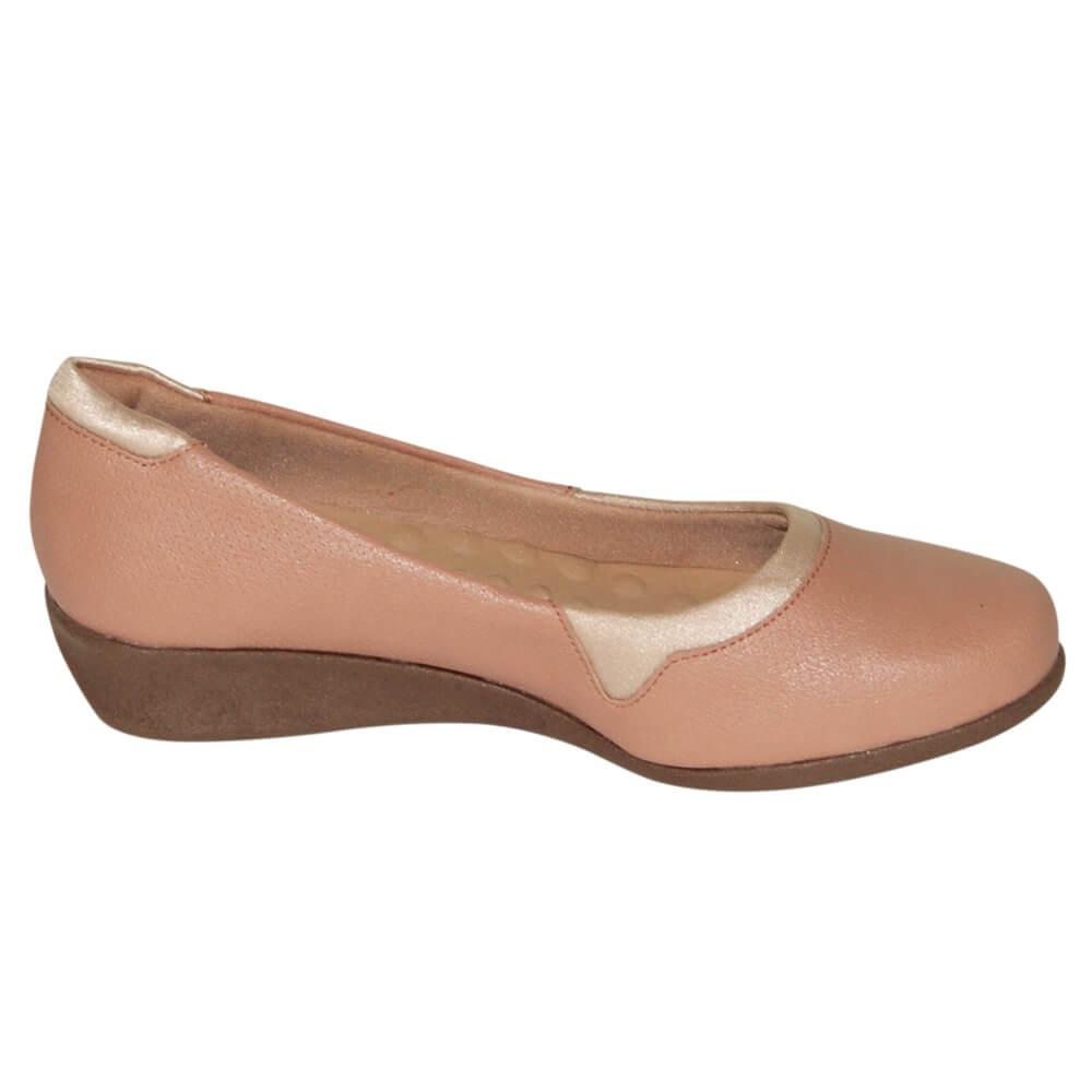 Sapato Malu Super Comfort Eloá Lycra