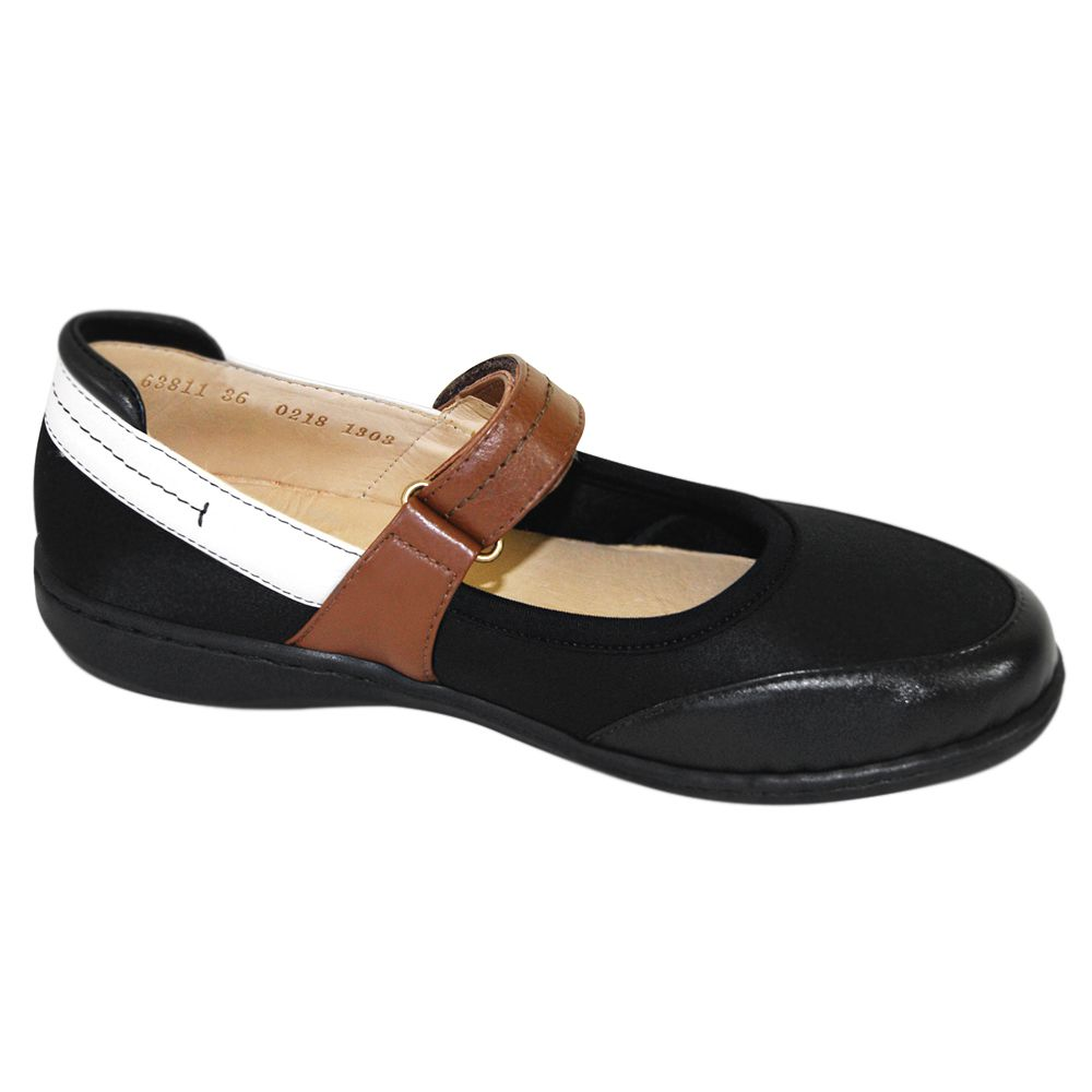 Sapato Opananken Alexxa Boneca Preto