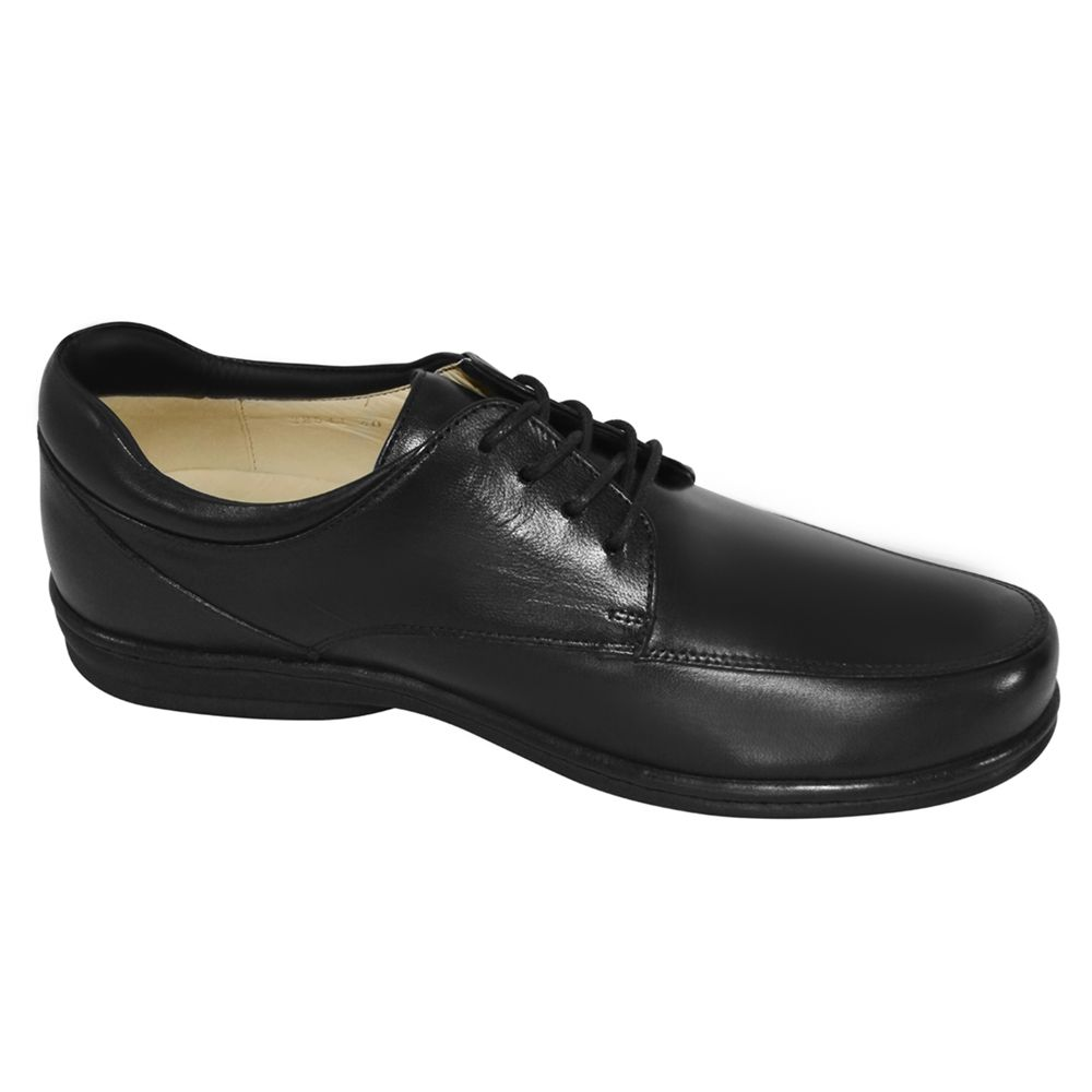 Sapato Opananken Antistress Preto Cadarço