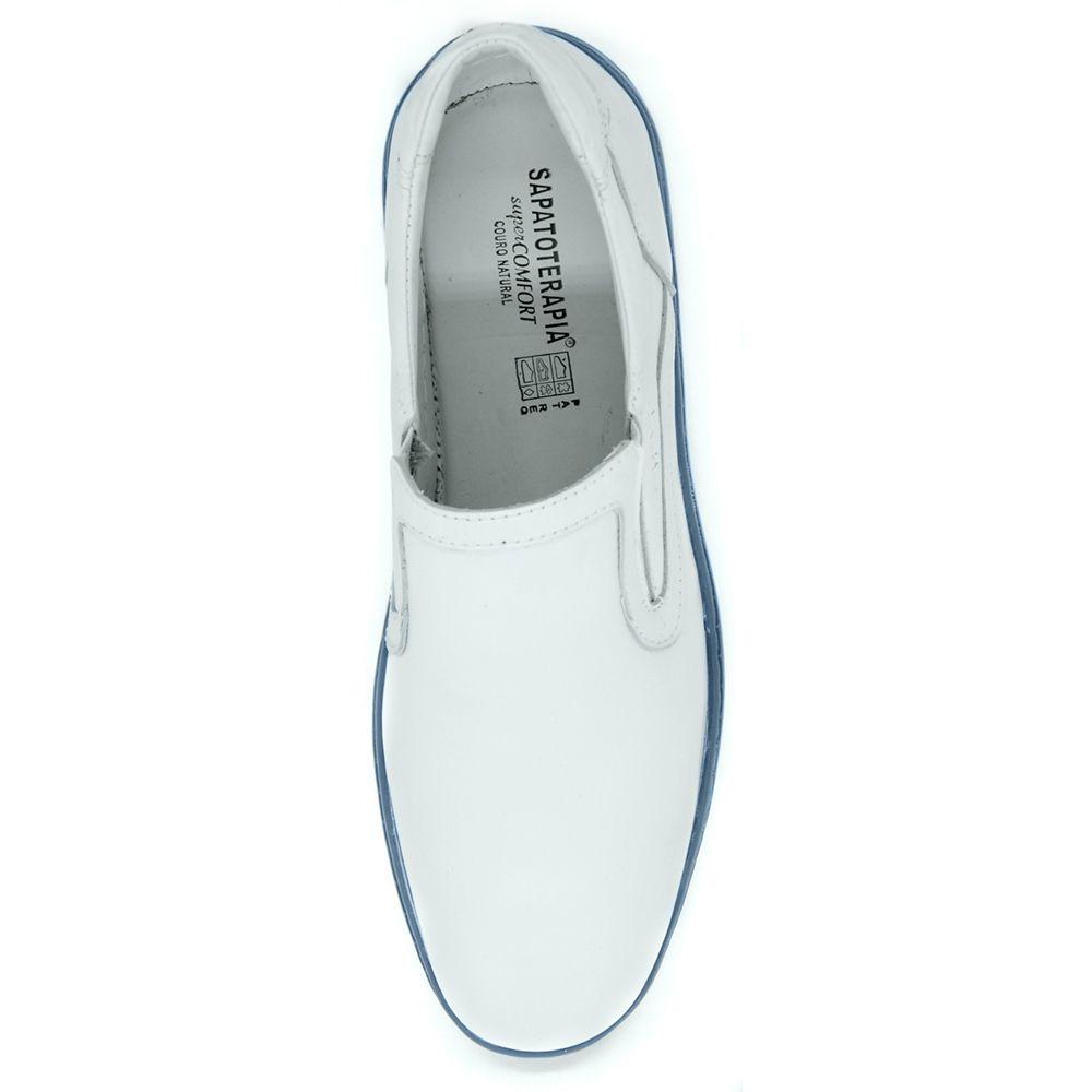 Sapato Sapatoterapia Air Float Couro Branco