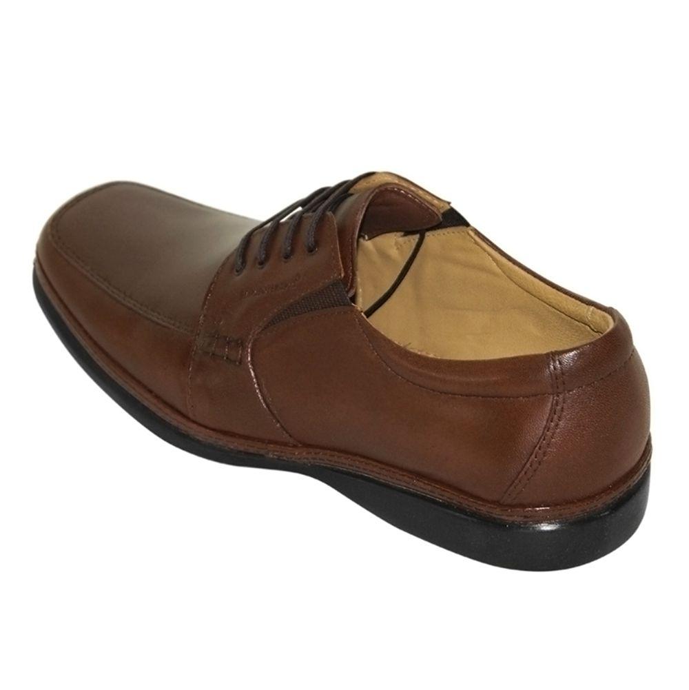 Sapato Sapatoterapia Super Leve Cadarço Couro