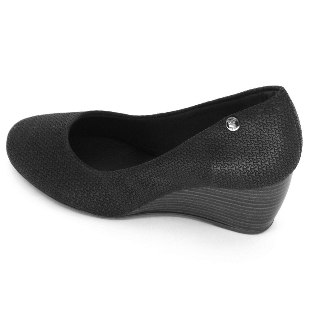 Sapato Scarpin Bottero Anabela Couro