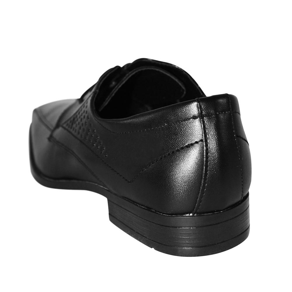 Sapato Social Broken Rules Bico Quadrado Cadarço
