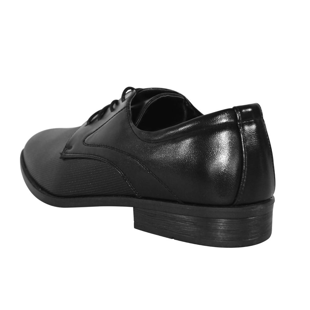 Sapato Social Broken Rules Bico Redondo Cadarço