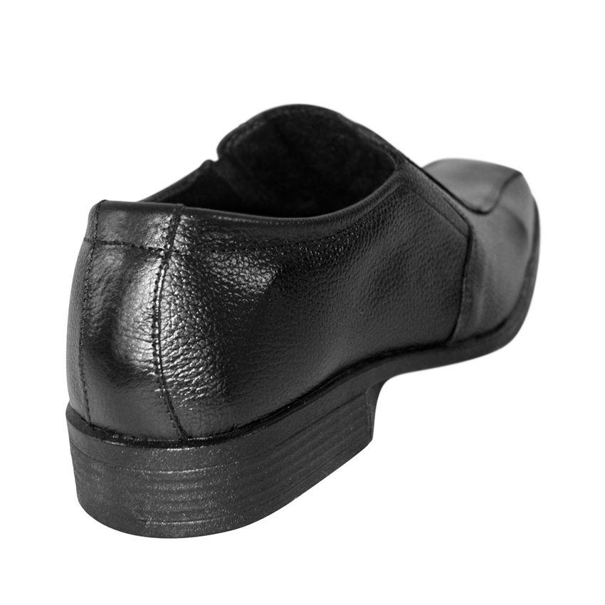 Sapato Social Fox Couro Sem Cadarço