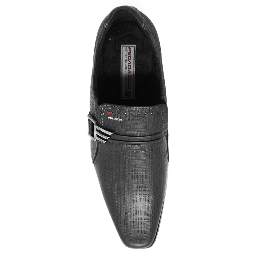 Sapato Social Masculino Pegada Couro