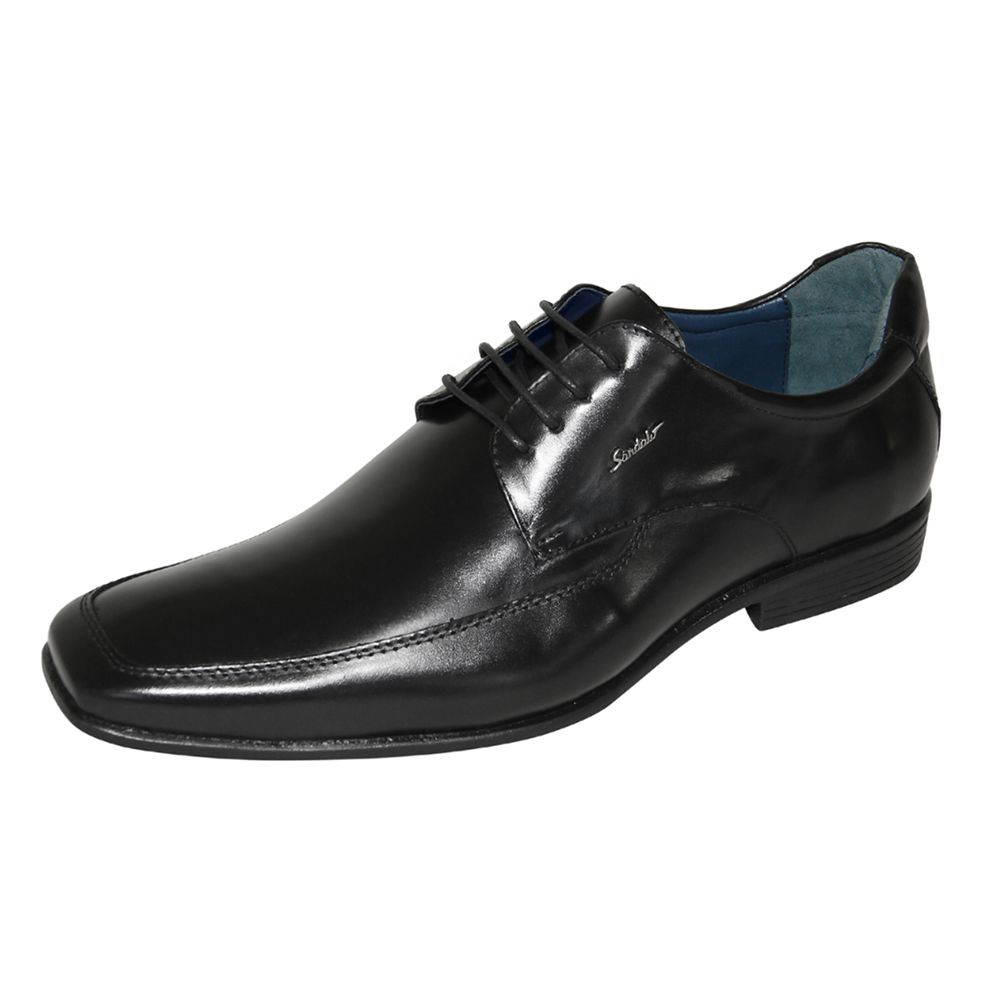 Sapato Social Sândalo Corolla Couro Cadarço