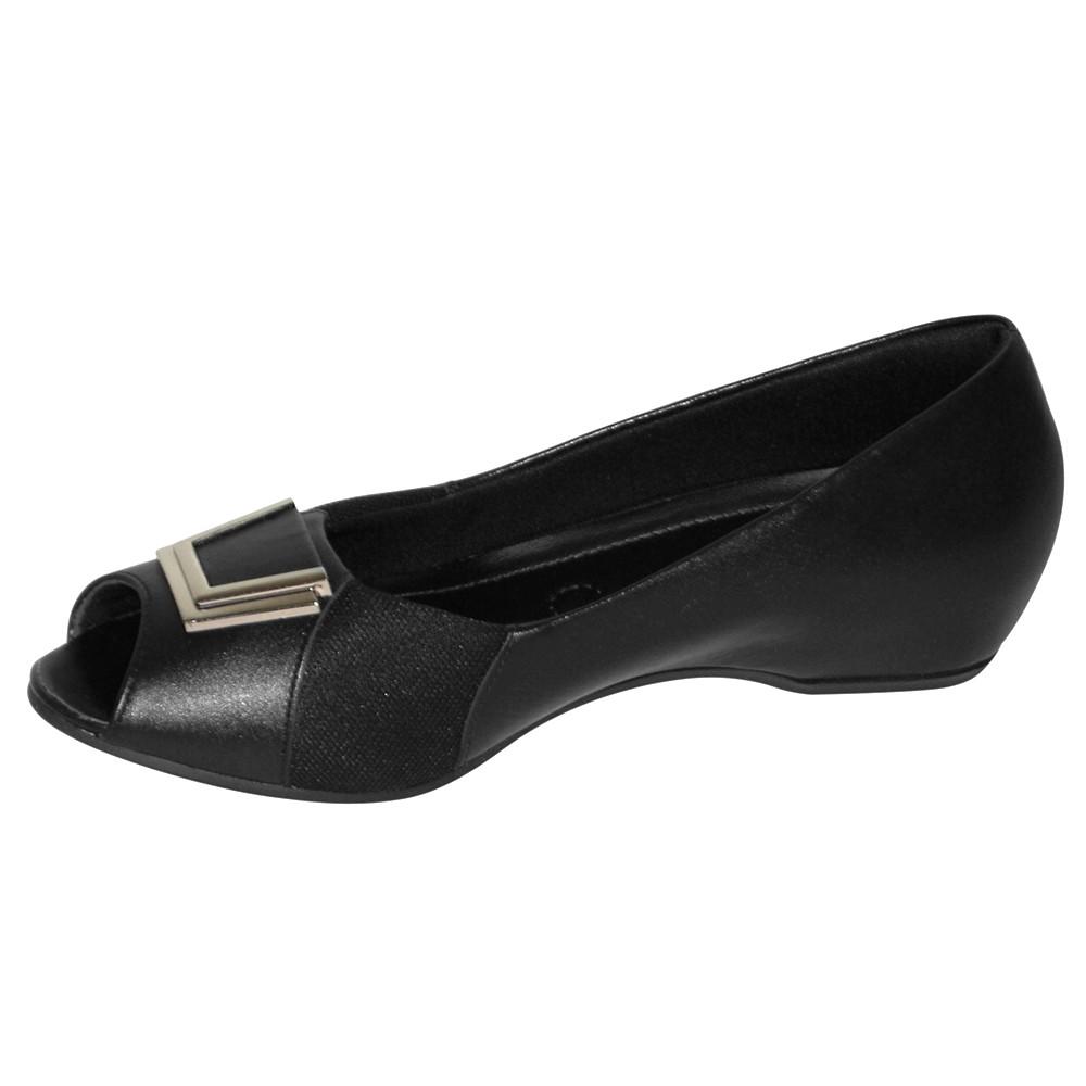 Sapato Usaflex Care Joanete Couro