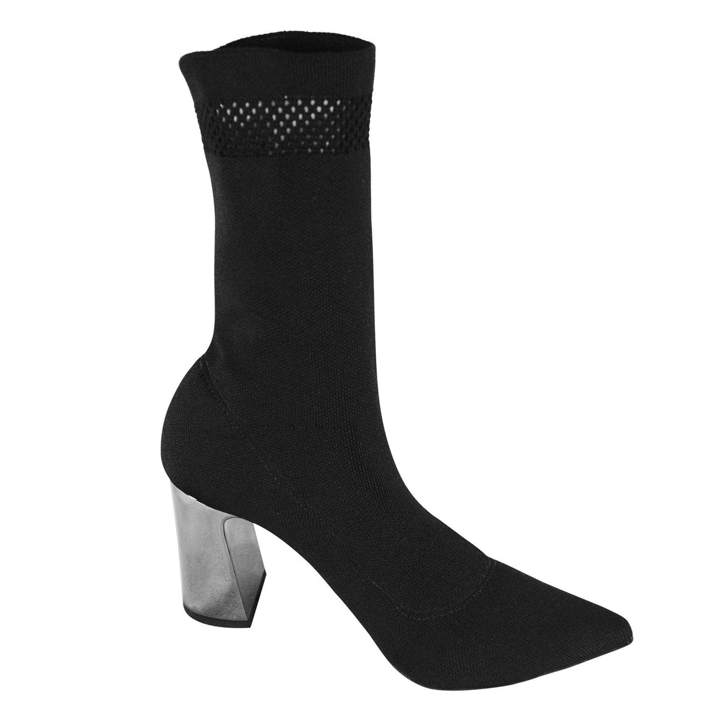 Sock Boot Cecconello Salto Grosso Preta