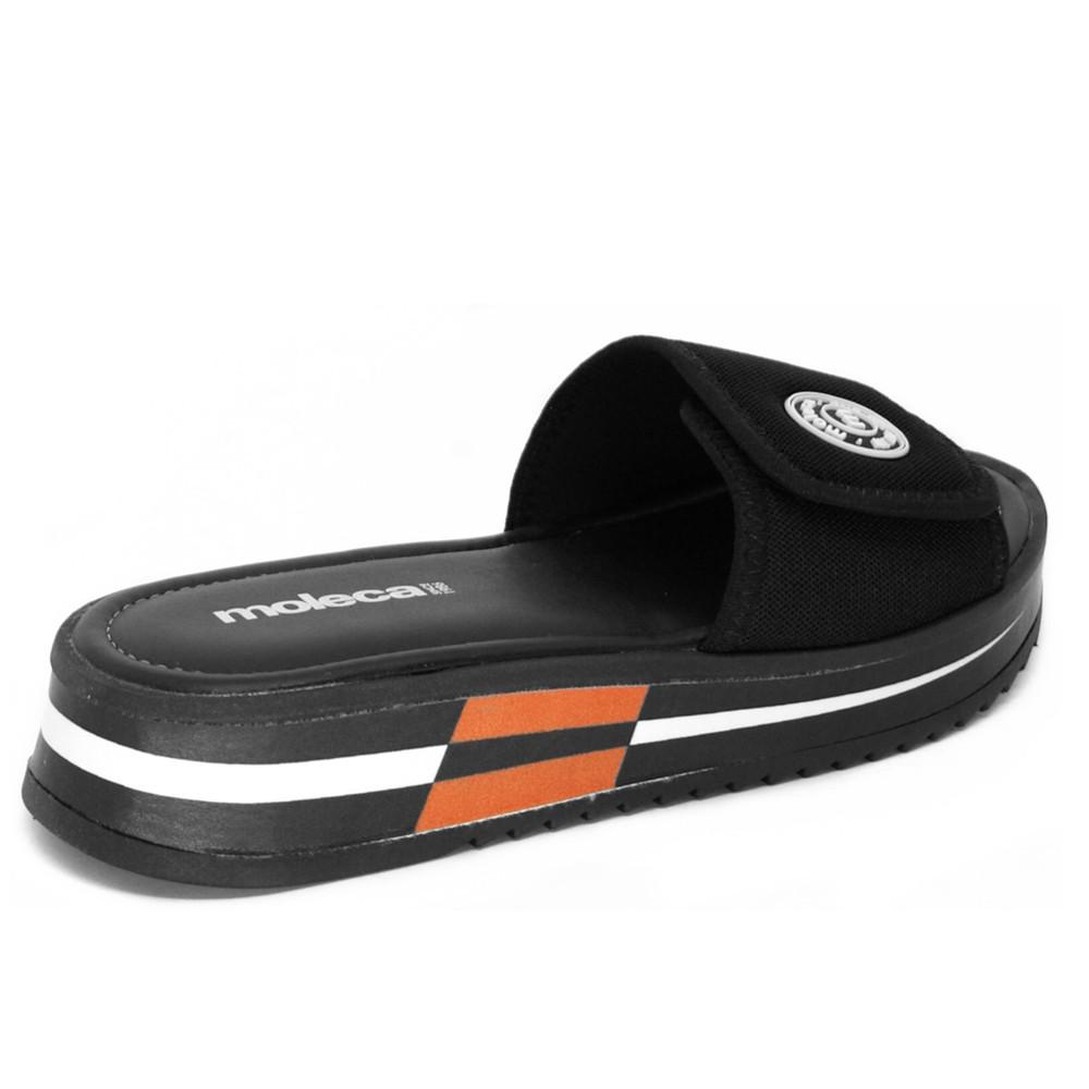 Tamanco Flatform Moleca com Velcro