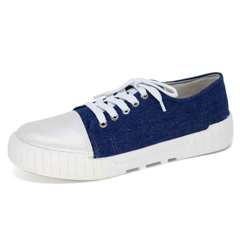 Tênis Casual Feminino Bottero Azul Jeans