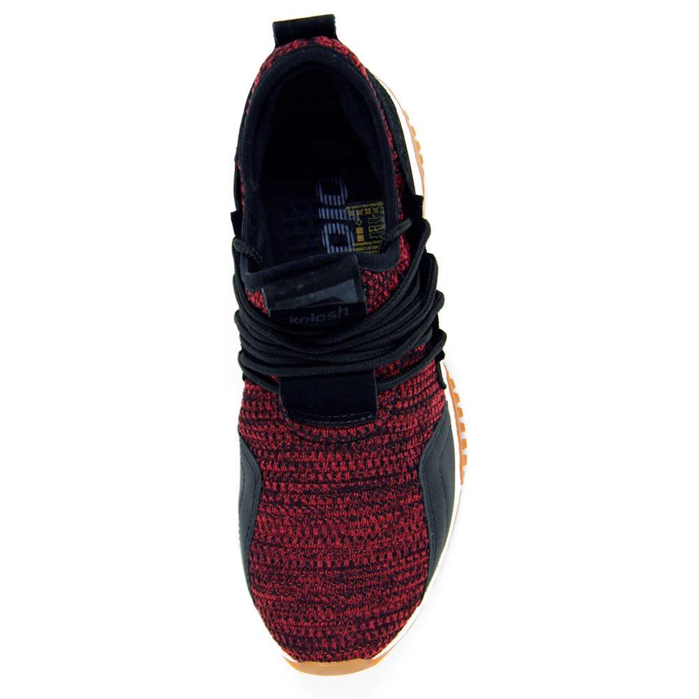 Tenis Esportivo Kolosh Masculino H3142 - Vermelho