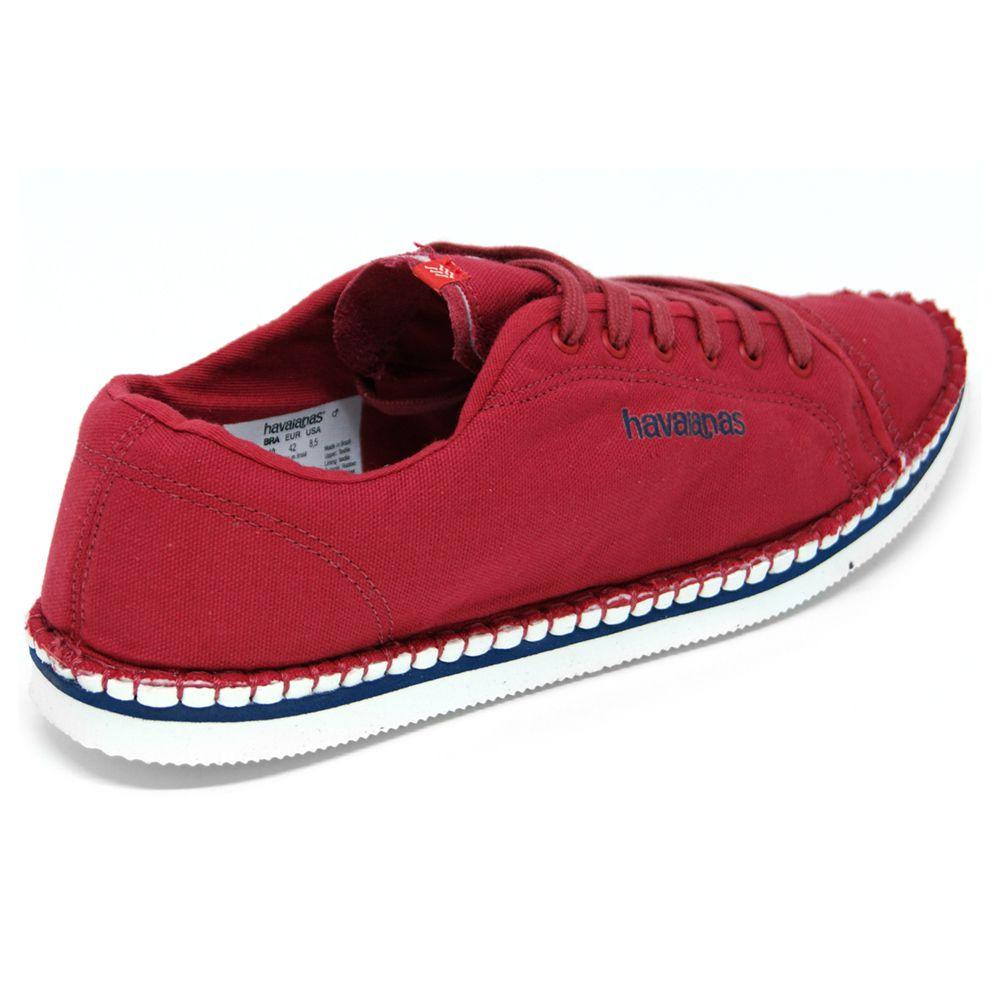 Tênis Havaianas Sneaker Layers Vermelho