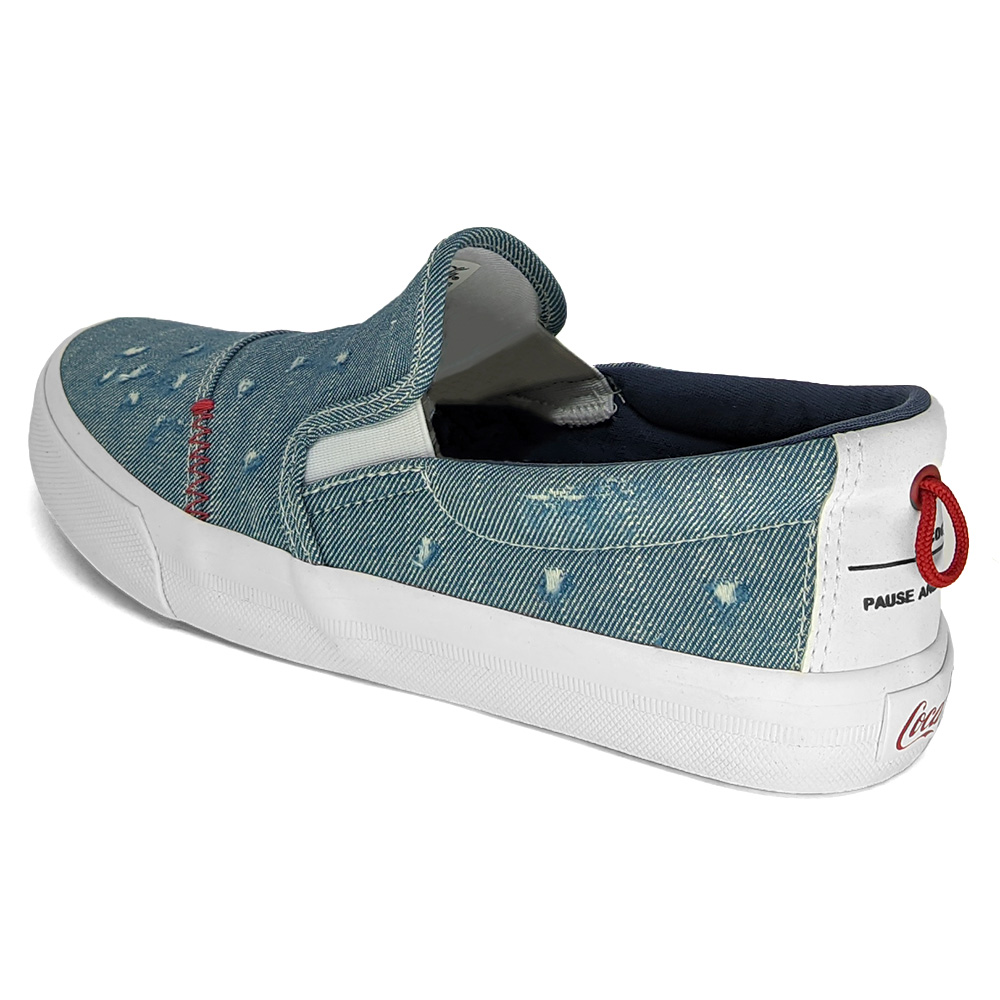 Tênis Iate Coca-Cola Tail Jeans CC1868 - Feminino