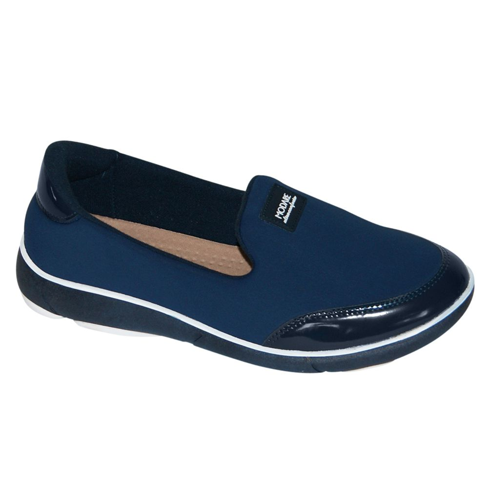 Tênis Slip Modare Ultra Conforto Lycra Azul