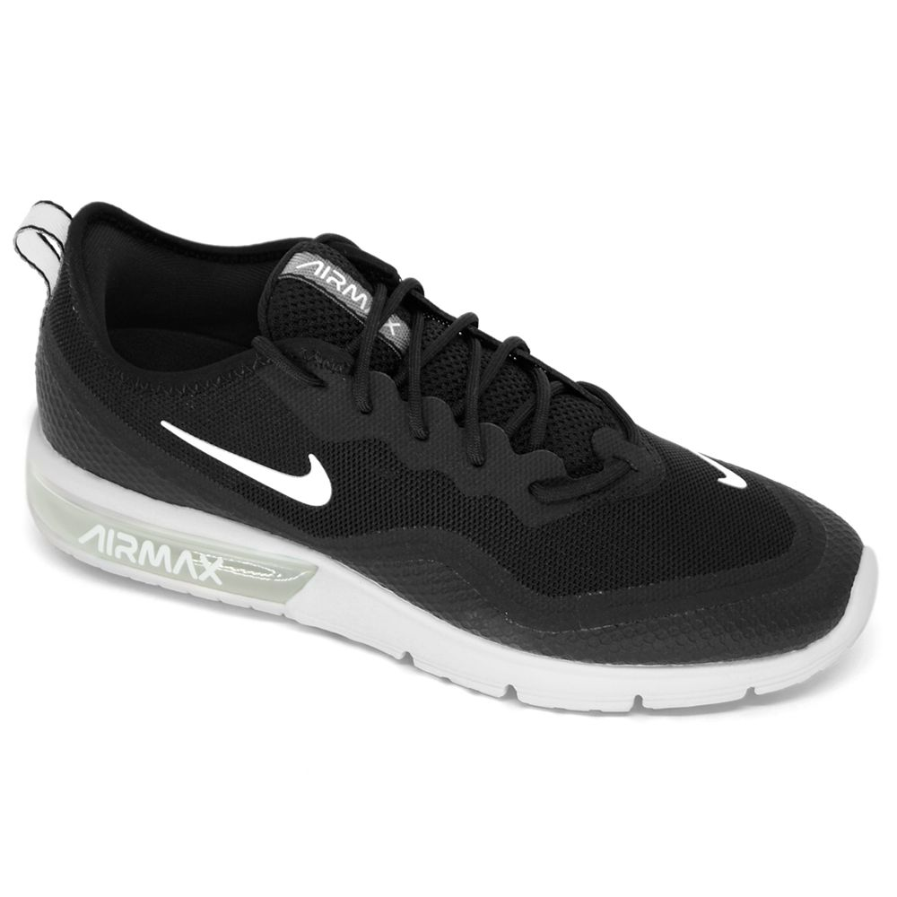 Tênis Nike Air Max Sequent 4.5 Preto/Branco