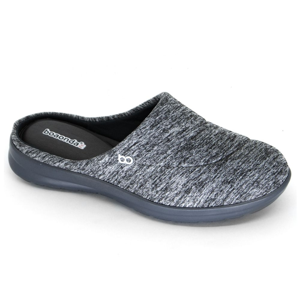 Slip On Feminino Cinza Boa Onda Fit Fresh