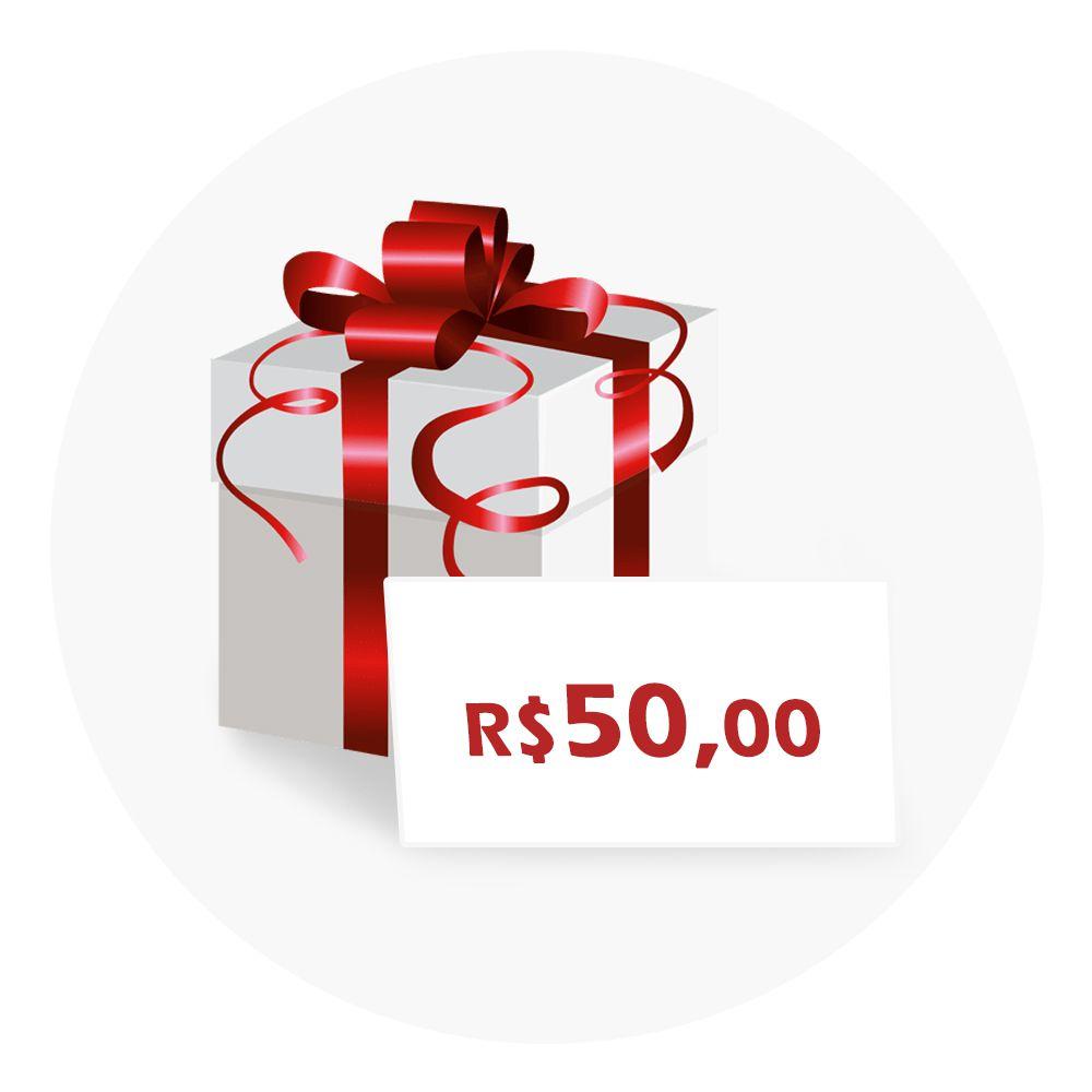 Vale-Presente R$50
