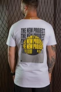 Camiseta Longline Masculina branca project