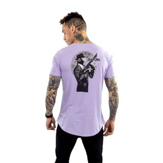 Camiseta Longline Masculina Macaco Atirador