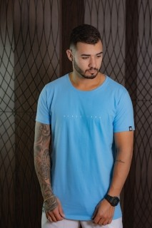 Camiseta Masculina azul