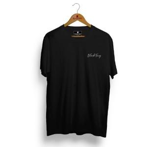 Camiseta Masculina Preta Escrita