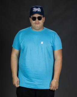 Camiseta Plus Size Azul Bear HX Masculina