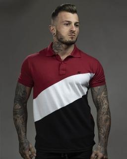 Camiseta Polo Masculina Striped Egito