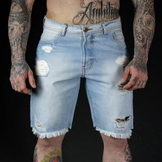 Bermuda Jeans White Scream
