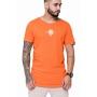 Camiseta Longline Laranja Nemo
