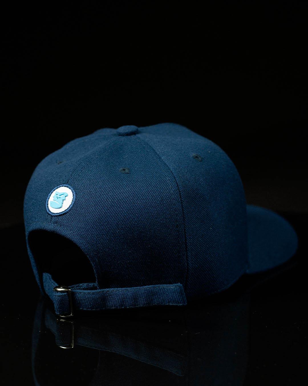 Boné Snapback Azul Dodger's Font