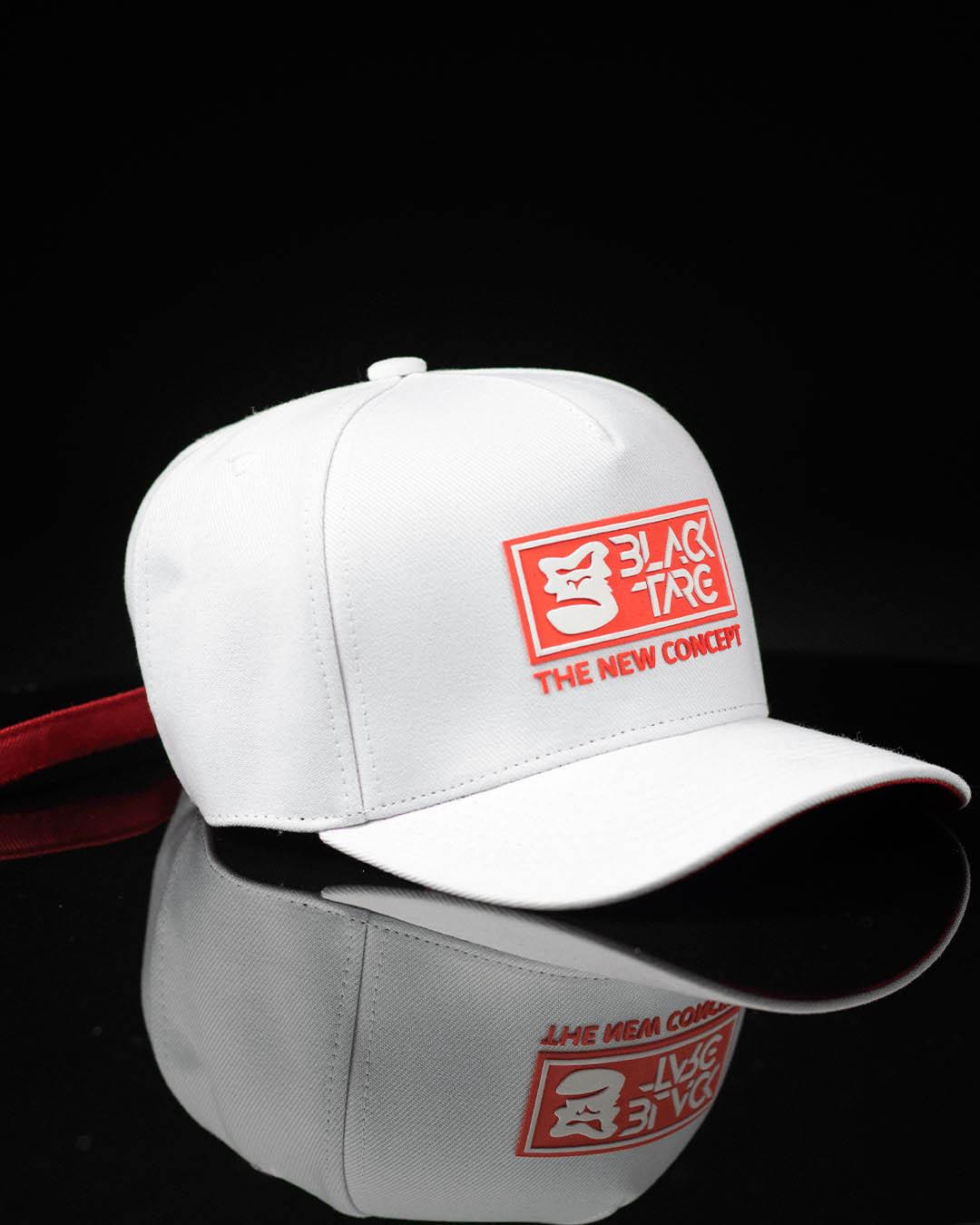 Boné Snapback Branco Targ Concept Red