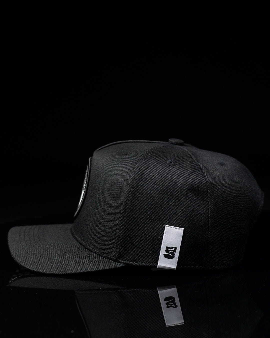 Boné Snapback Preto Detroid Black White