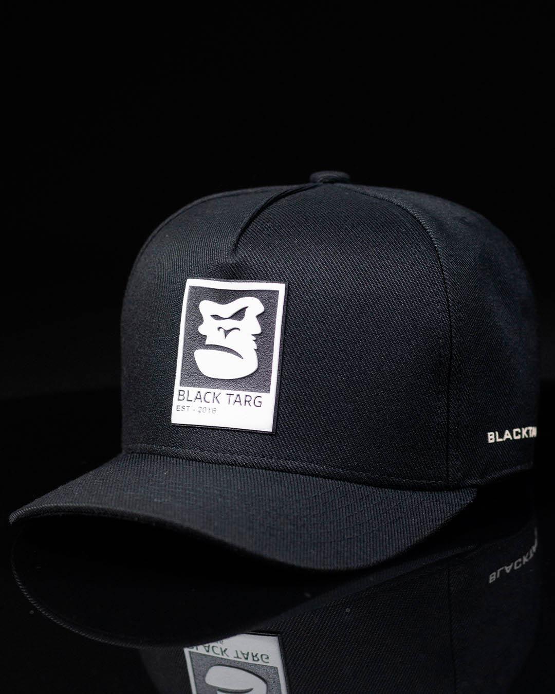 Boné Trucker Preto Gorilla Black