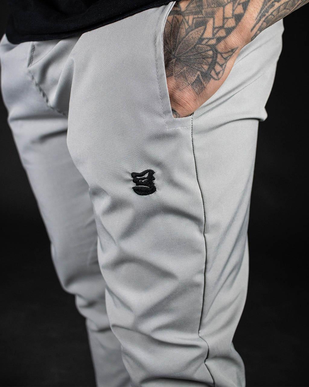 Calça Elast Fit Grey