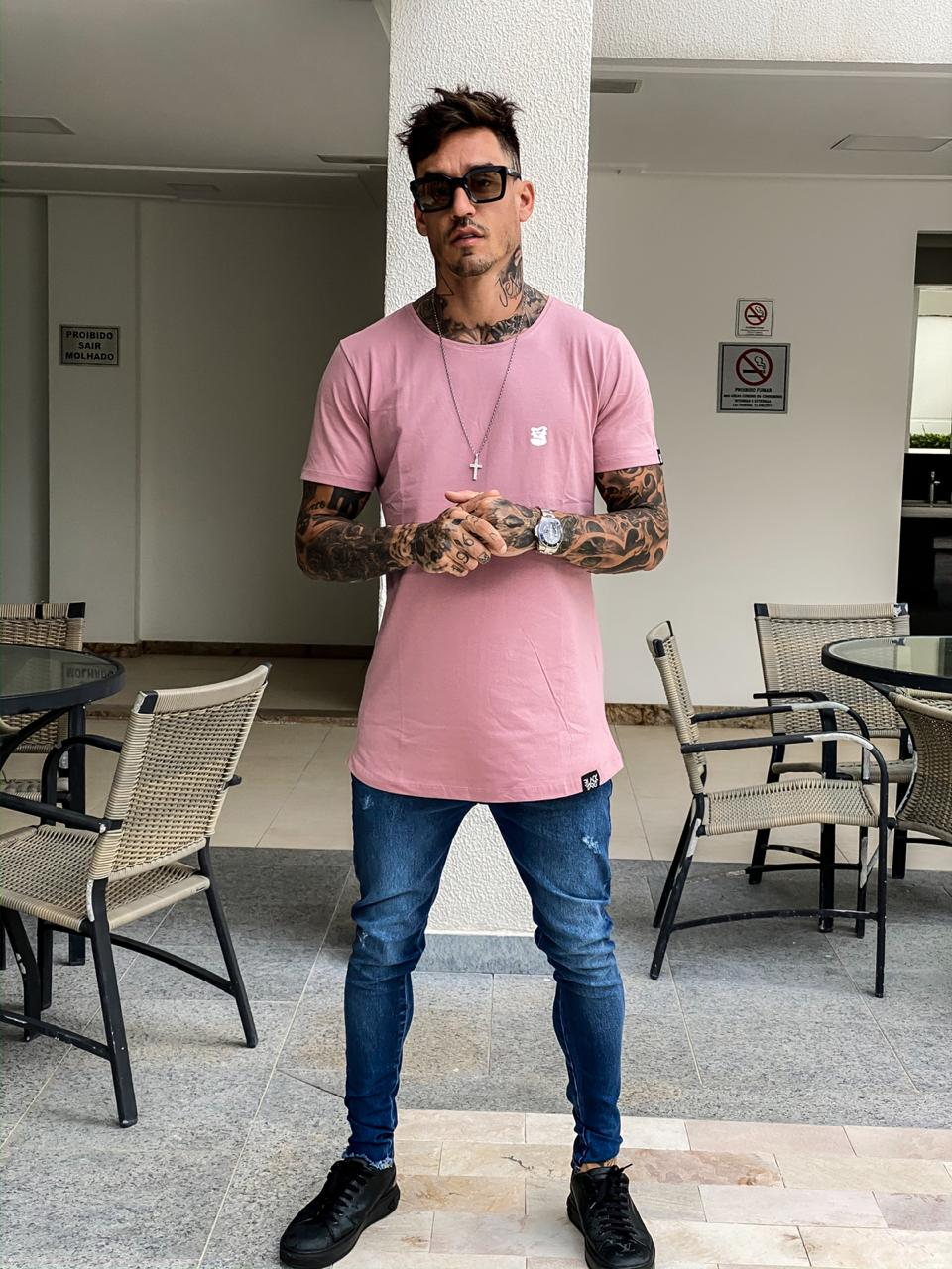 Calça Jeans Masculina Skinny Azul