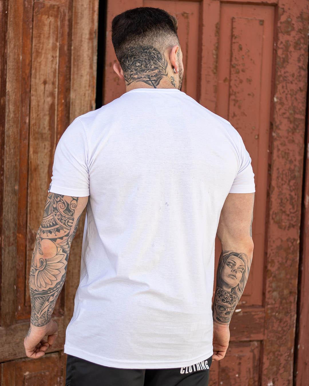 Camiseta Branca Life Well Masculina