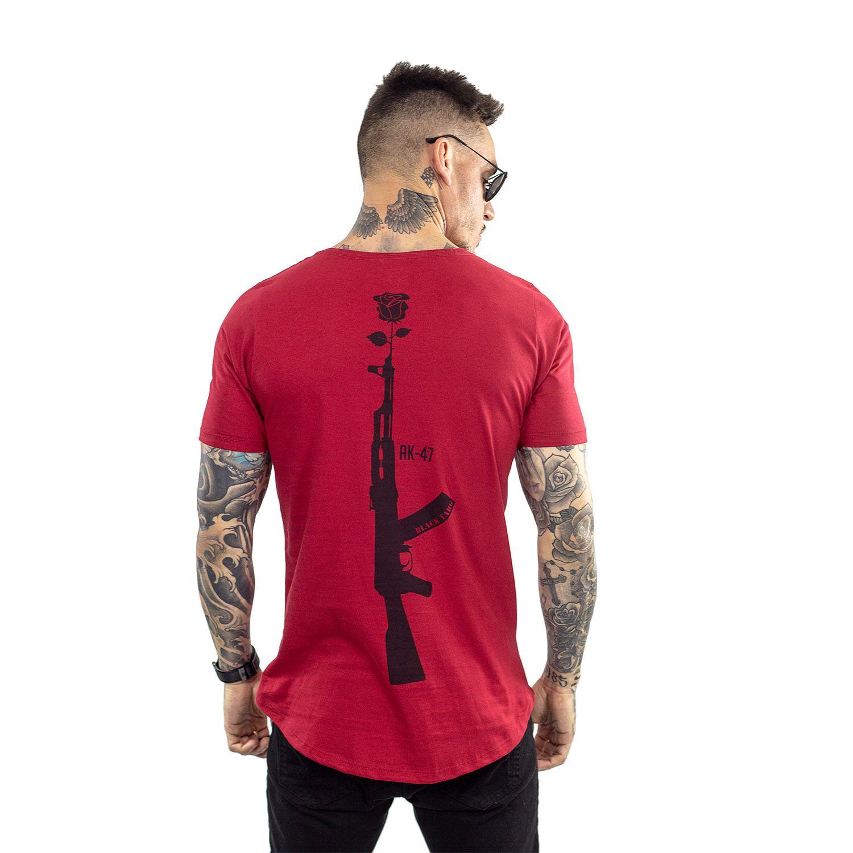 Camiseta Longline Masculina Arma
