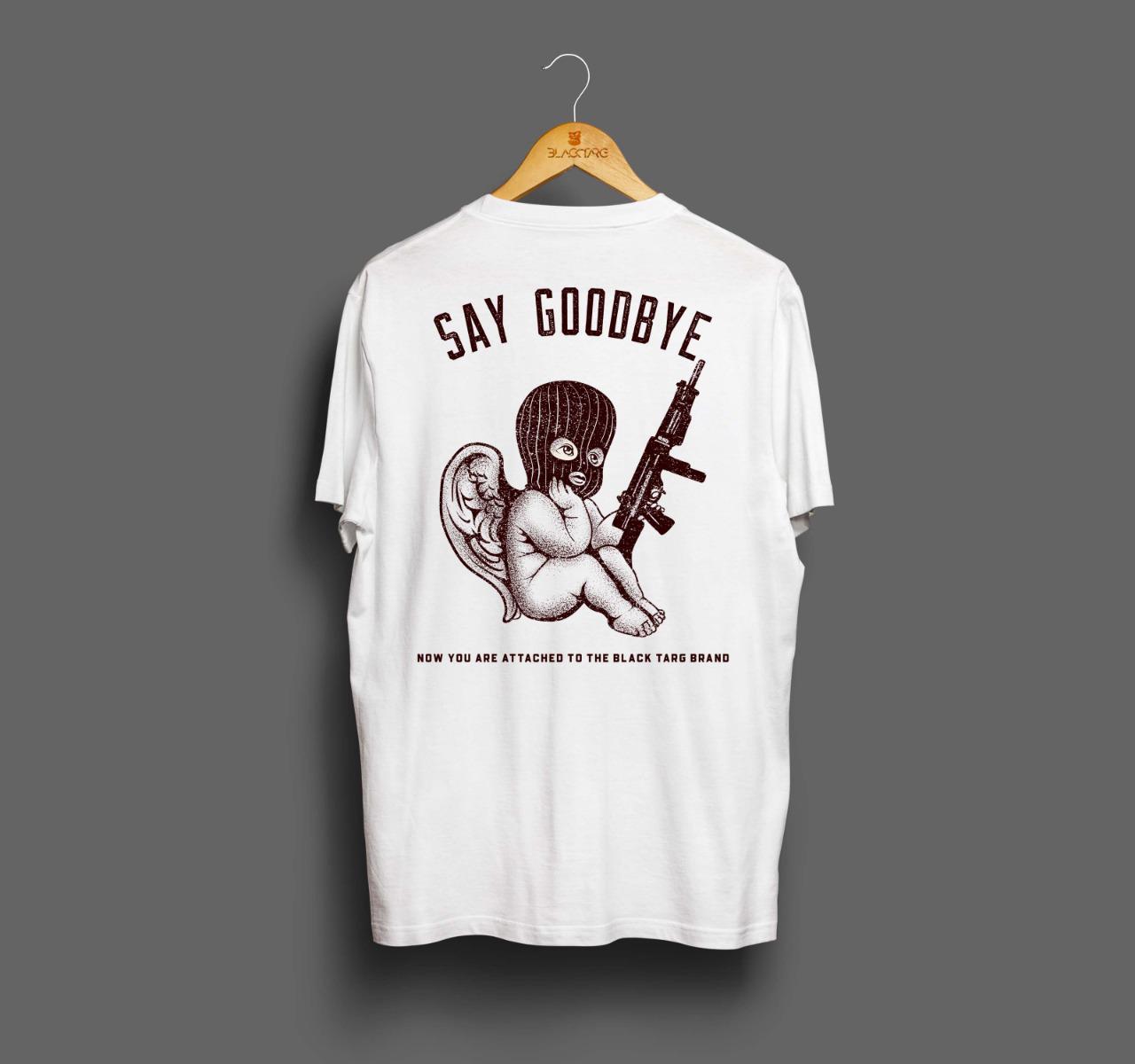 Camiseta Masculina Anjo Branca