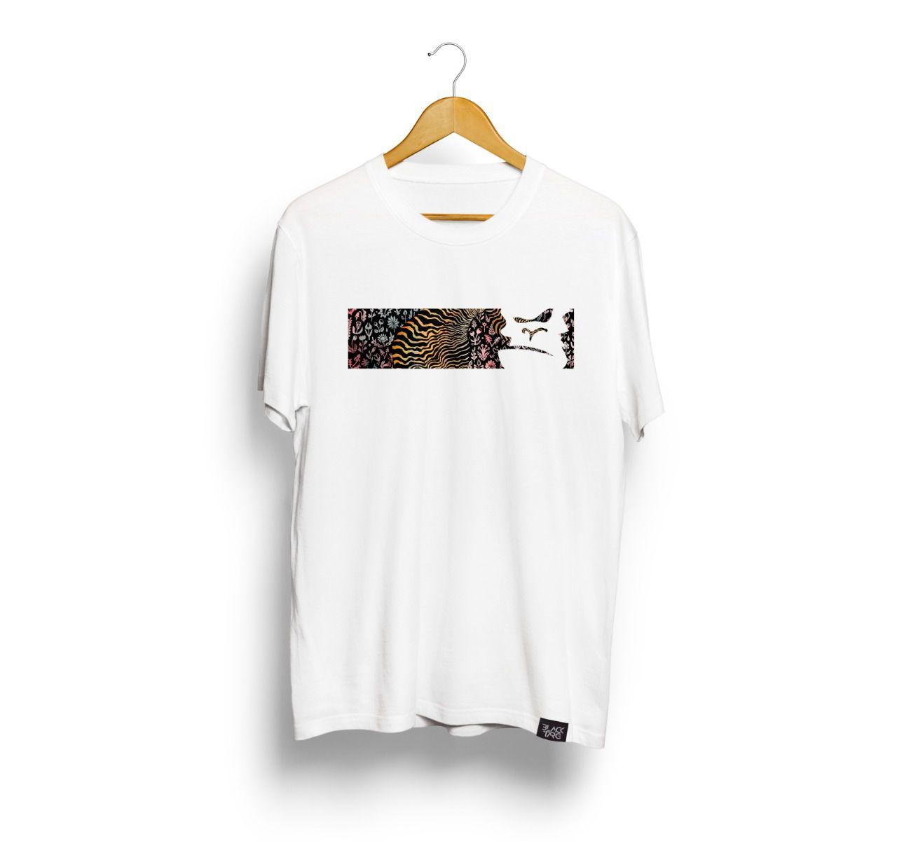 Camiseta Masculina Estampa Animal Print