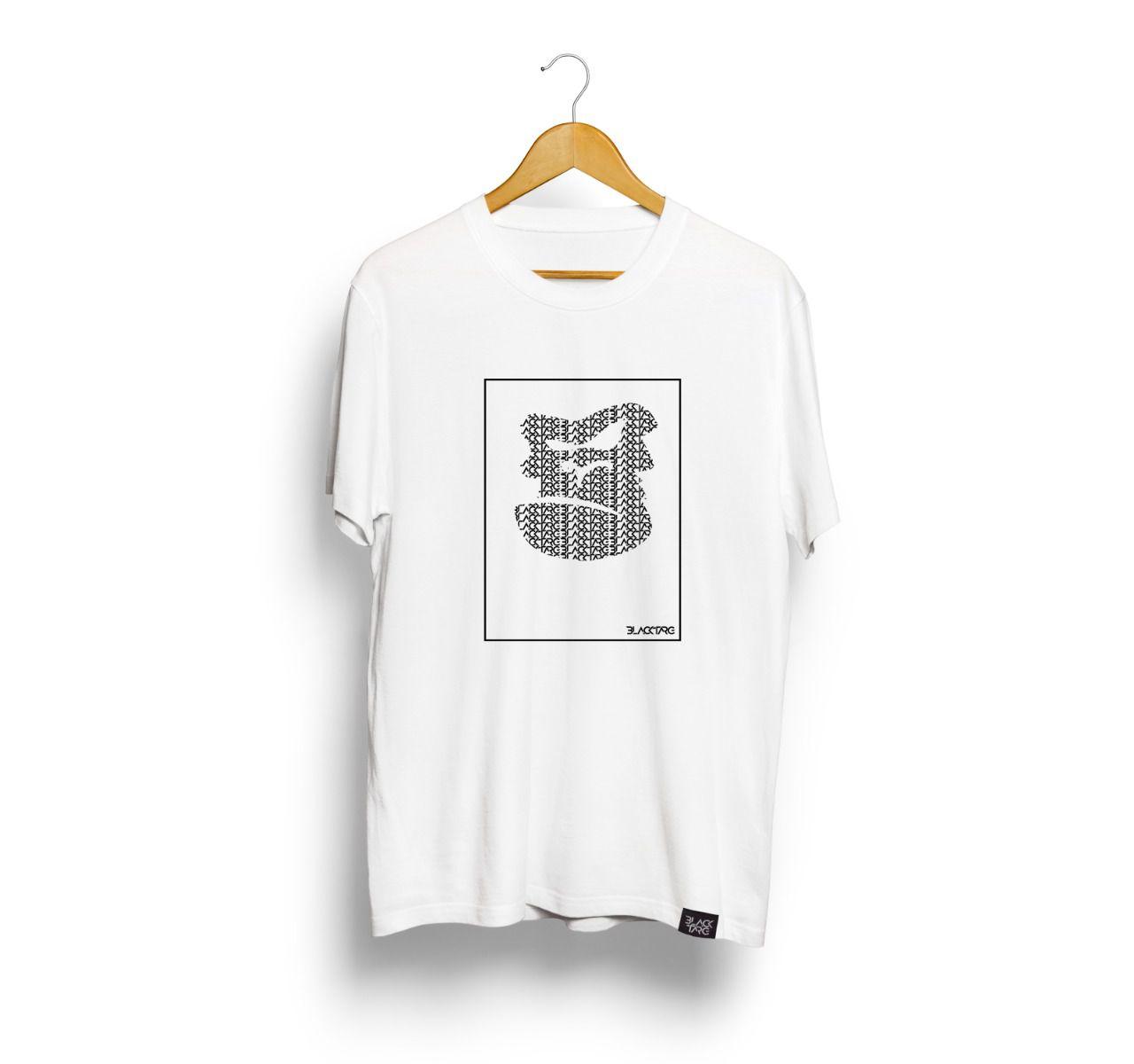Camiseta Masculina Estampada Black Targ