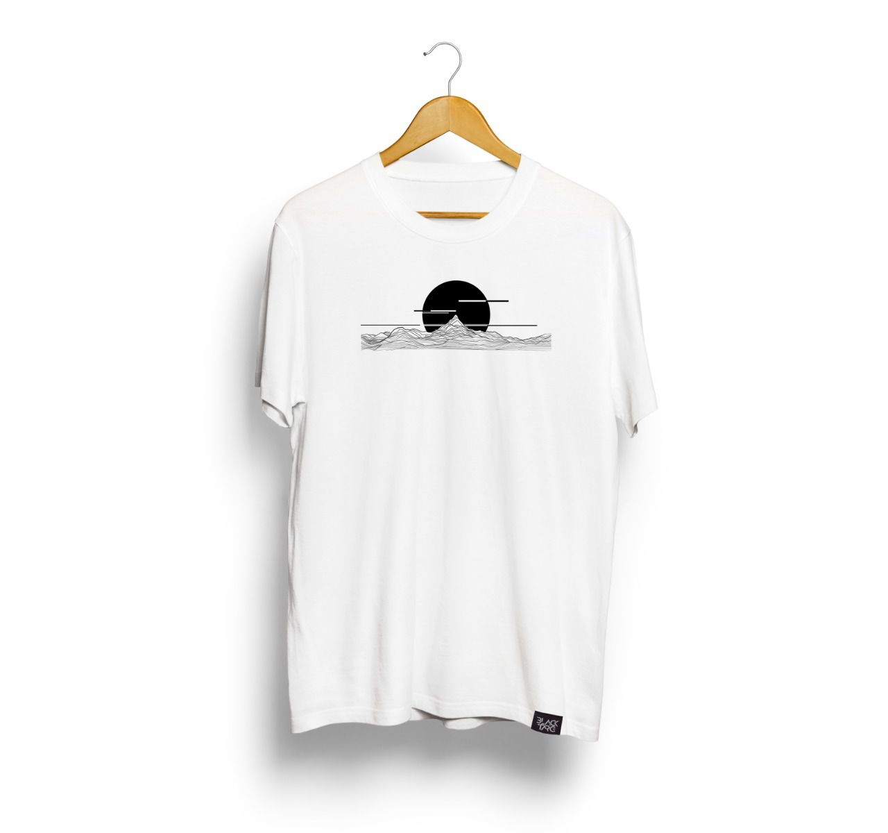 Camiseta Masculina Estampada Eclipse