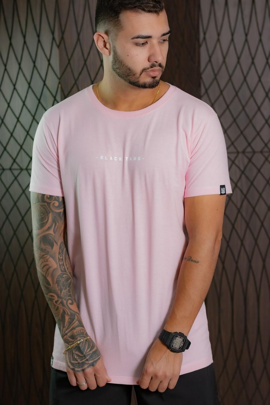 Camiseta Masculina Rosa