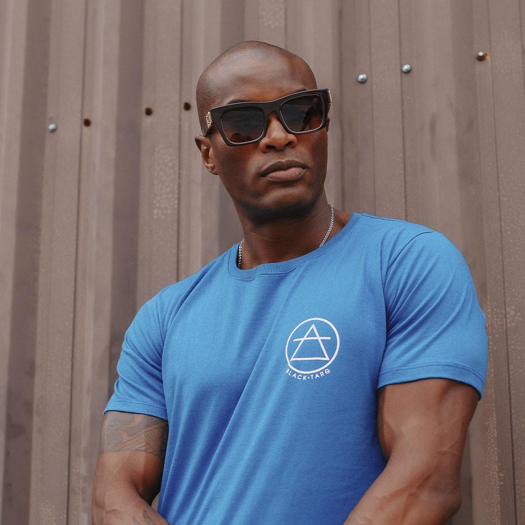 Camiseta Masculina transcendência azul