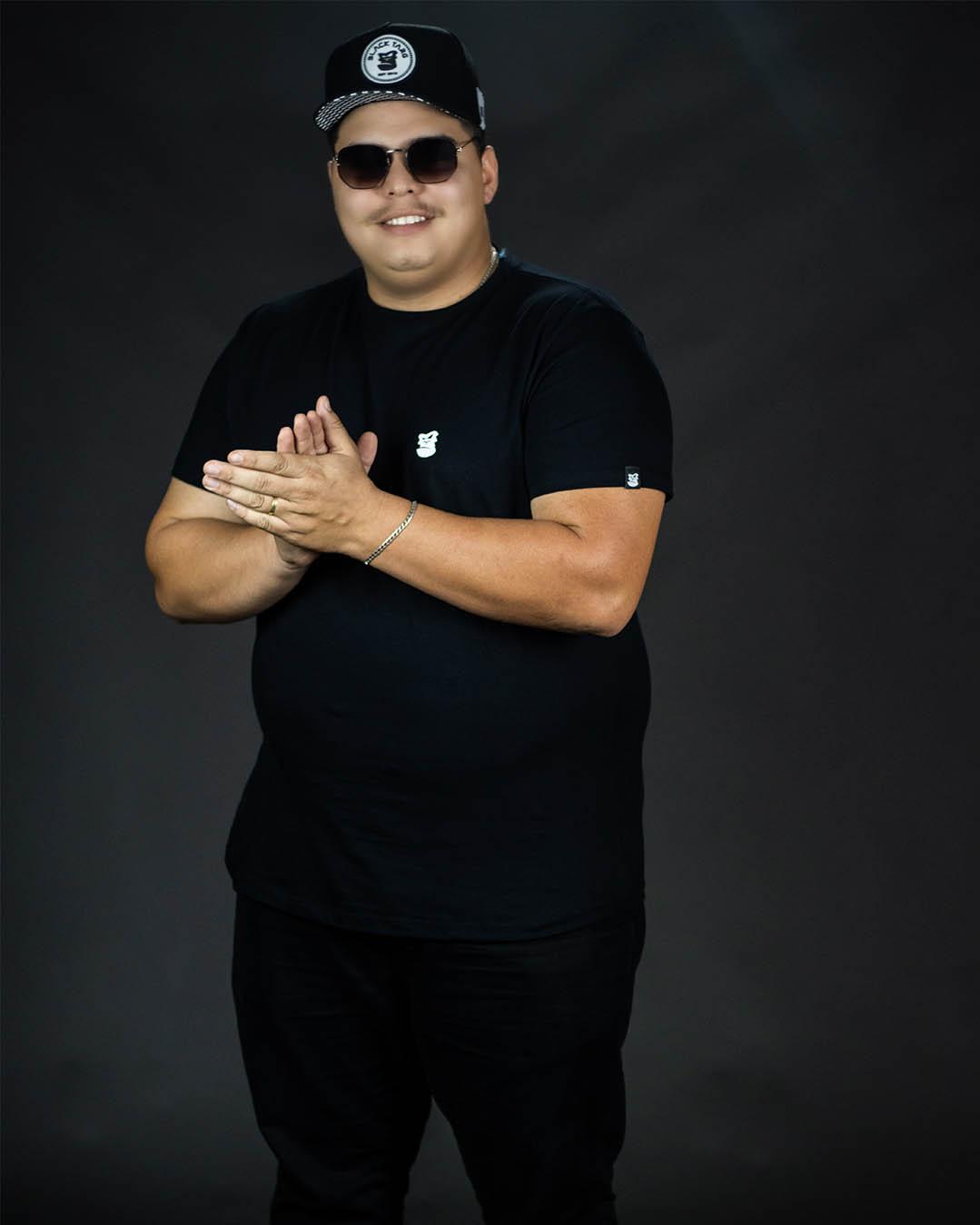 Camiseta Plus Size Preta Brand's Black Masculina