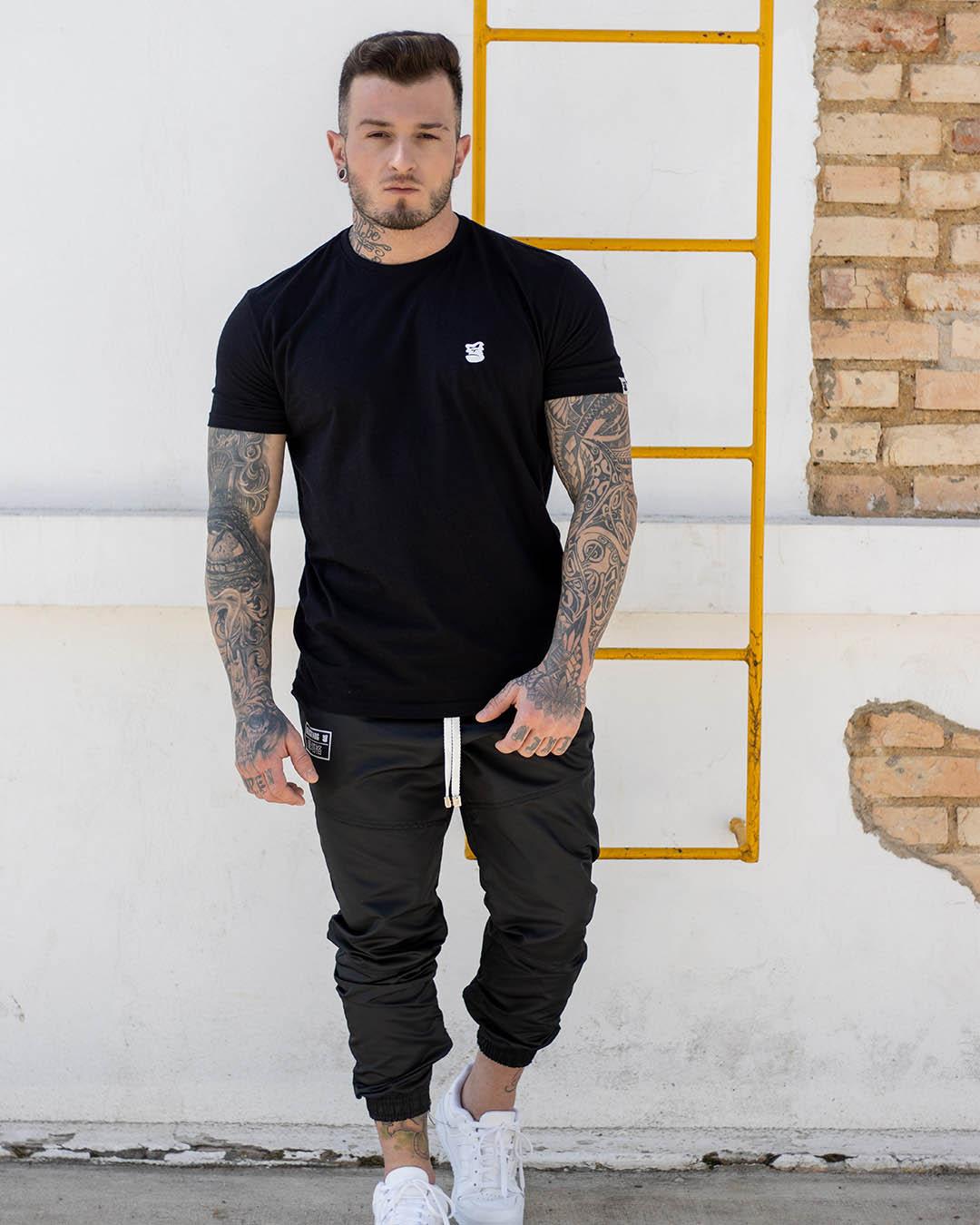 Camiseta Preta Brand's Black Masculina