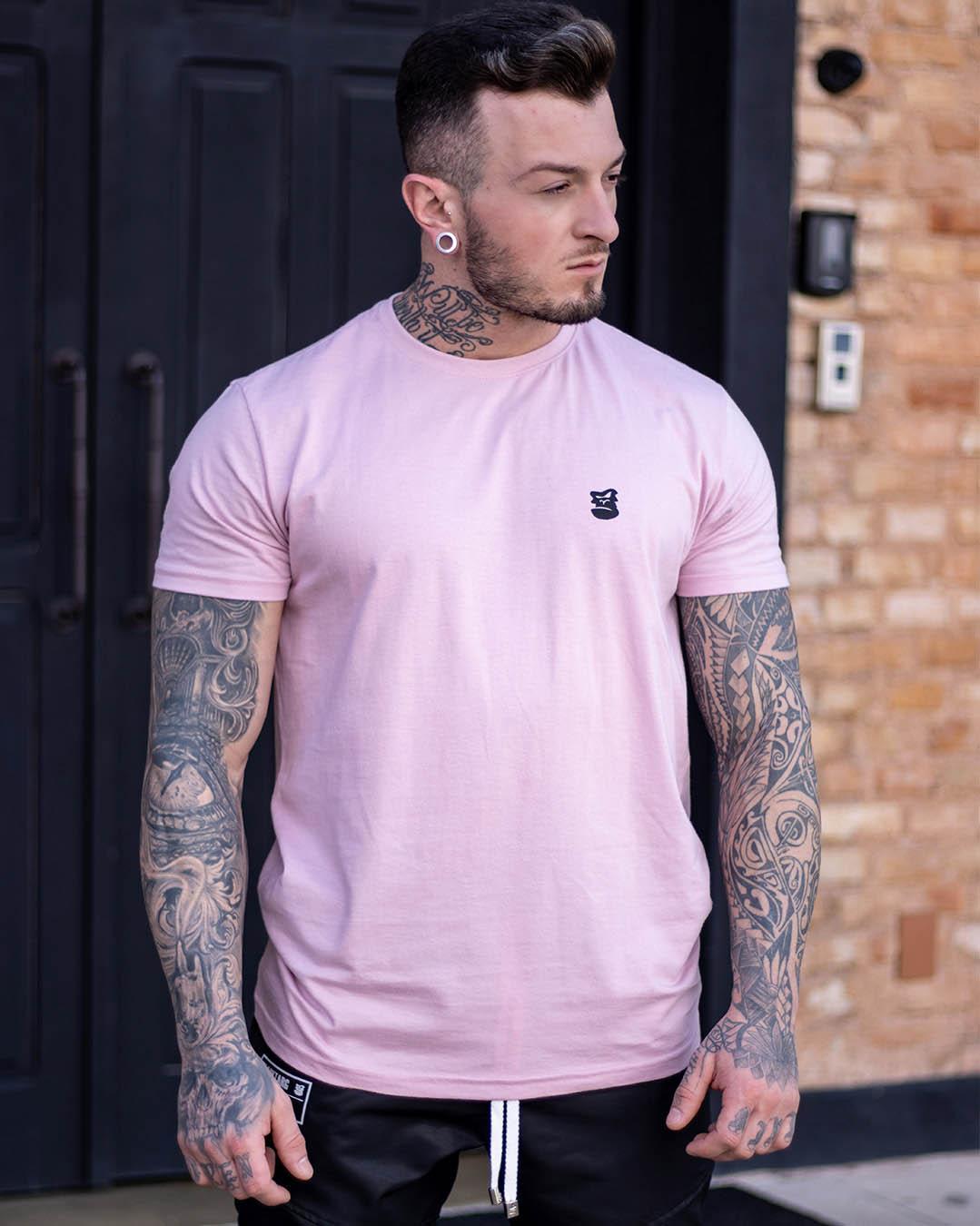 Camiseta Rosa Morrissey Masculina
