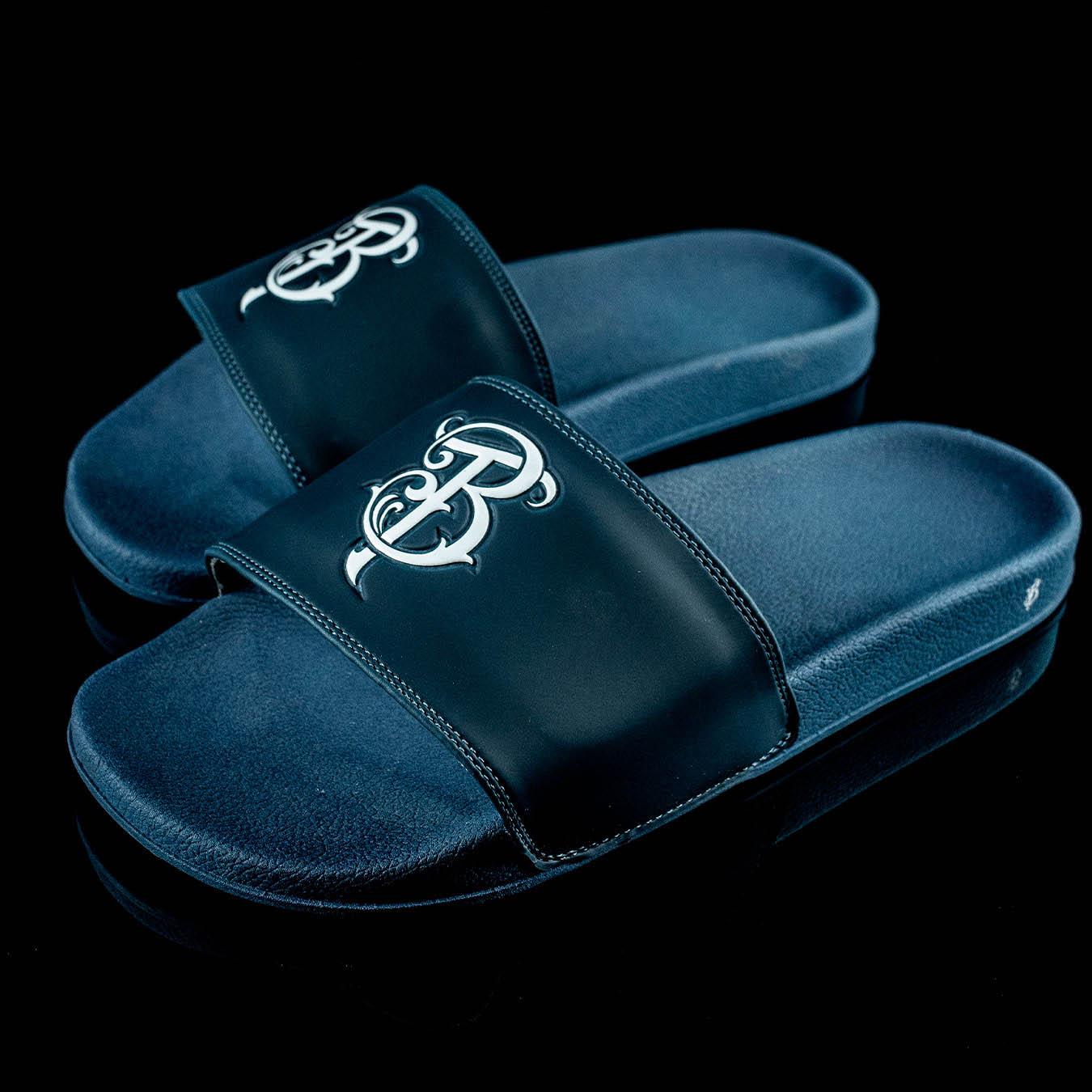 Chinelo Slide Masculino Dark Blue