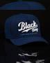 Boné Trucker Azul Dodger's Font